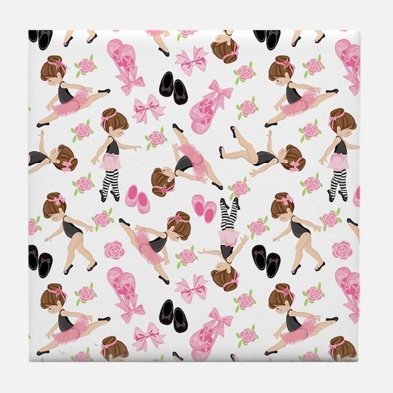 Ballerinas Tile Coaster