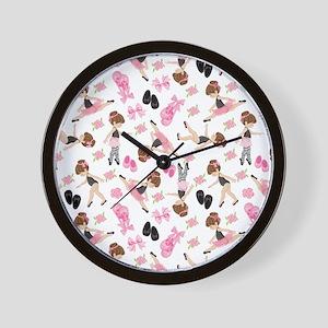 Ballerinas Wall Clock