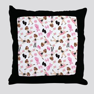 Ballerinas Throw Pillow