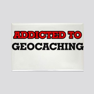 Addicted to Geocaching Magnets
