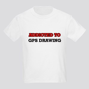 Addicted to Gps Drawing T-Shirt