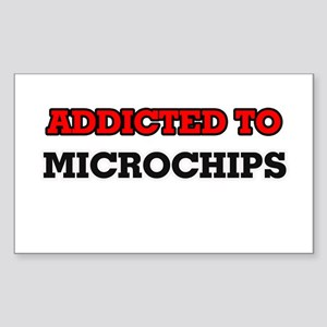 Addicted to Microchips Sticker