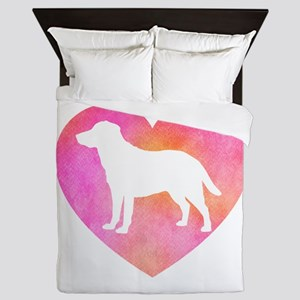 Lab Love Mom Queen Duvet