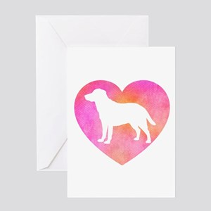 Lab Love Mom Greeting Cards
