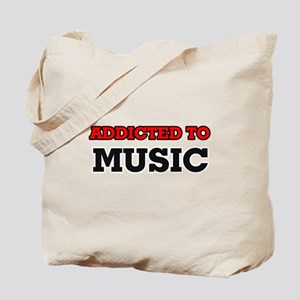 Addicted to Music Tote Bag