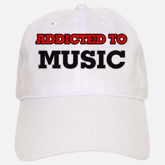 Addicted to Music Baseball Baseball Cap