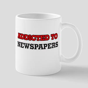 Addicted to Newspapers Mugs
