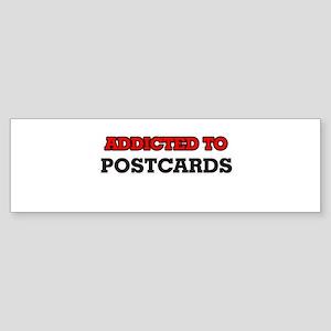 Addicted to Postcards Bumper Sticker