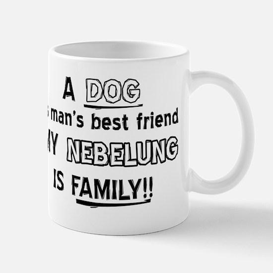 Nebelung Cat Is My Family Mug