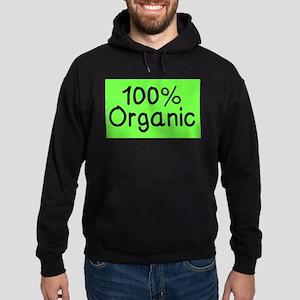 100% Organic Hoodie (dark)