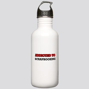 Addicted to Scrapbooki Stainless Water Bottle 1.0L