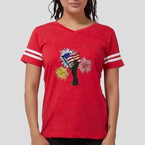 Dachshund Patriotic Black and Tan T-Shirt