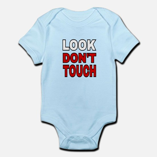 LOOK DON'T TOUCH Body Suit
