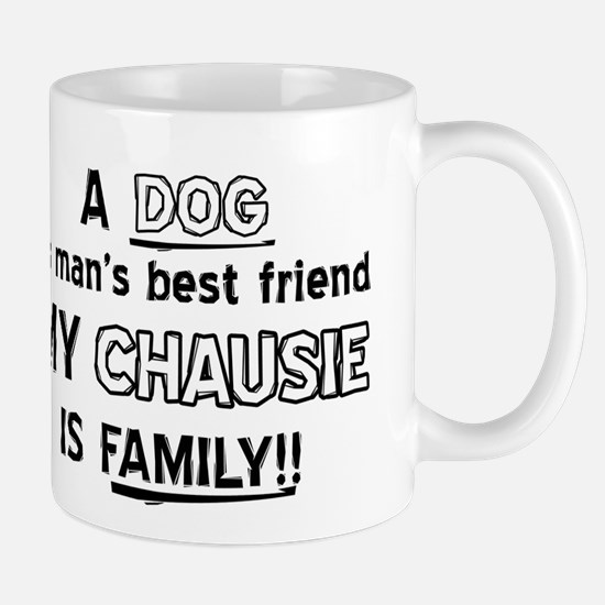 Chausie Cat Is My Family Mug