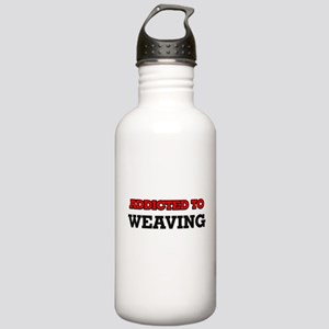 Addicted to Weaving Stainless Water Bottle 1.0L