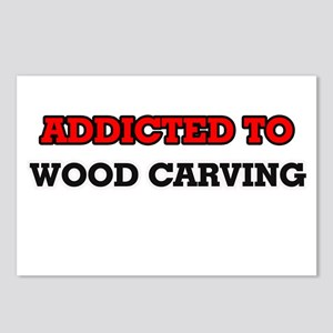 Addicted to Wood Carving Postcards (Package of 8)