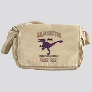 Bilociraptor - Speech Lable Messenger Bag