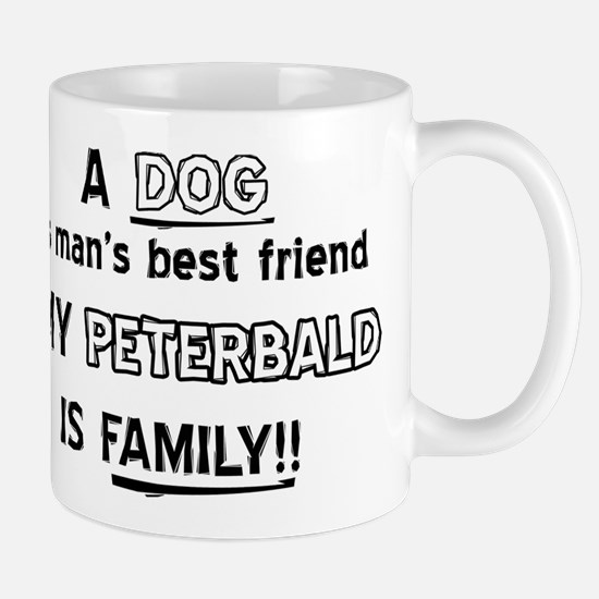 Peterbald Cat Is My Family Mug