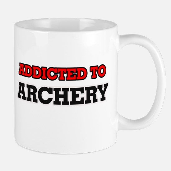 Addicted to Archery Mugs