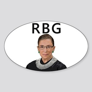 Notorious RBG Sticker (Oval)