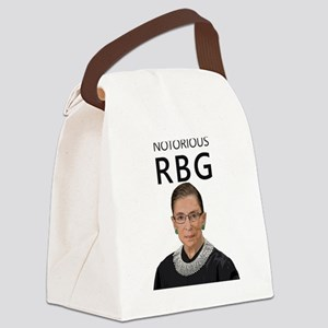 Notorious RBG Canvas Lunch Bag