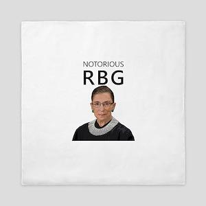 Notorious RBG Queen Duvet