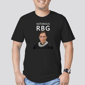 Notorious RBG Men's Fitted T-Shirt (dark)