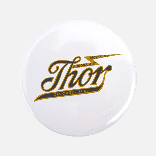Thor Motorcycle Chicago Retro Button