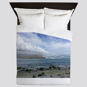 Earth, Water and Clouds Queen Duvet