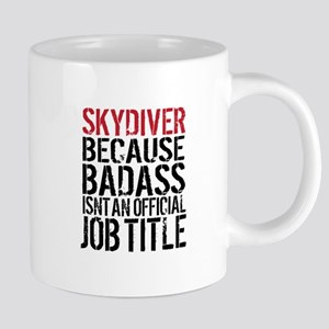 Badass Skydiver Mugs