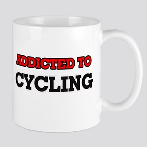 Addicted to Cycling Mugs
