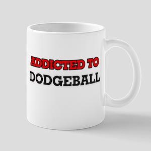 Addicted to Dodgeball Mugs