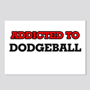 Addicted to Dodgeball Postcards (Package of 8)