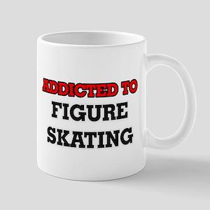 Addicted to Figure Skating Mugs