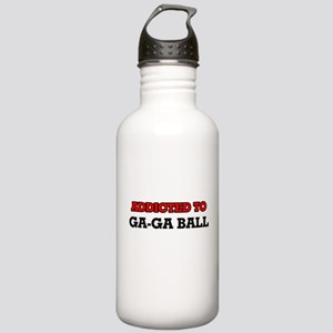 Addicted to Ga-Ga Ball Stainless Water Bottle 1.0L