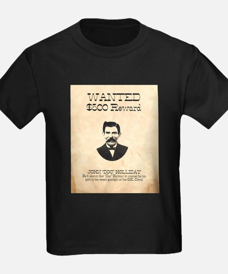 Doc Holliday Wanted T