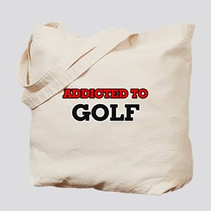 Addicted to Golf Tote Bag
