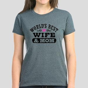 World's Best Wife & Mom T-Shirt