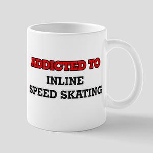 Addicted to Inline Speed Skating Mugs