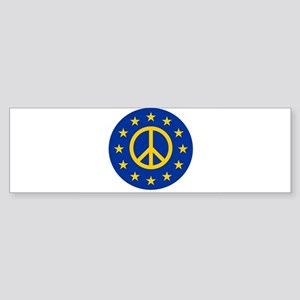 Yes to the EU - Stay in the Europea Bumper Sticker