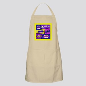 Colorful Comic Book Panels Apron