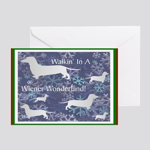 Dachshund Holiday Greeting Cards (Pk of 20)