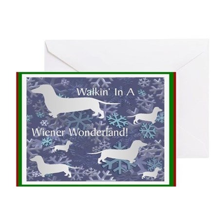 Dachshund Holiday Greeting Cards (Pk of 10)