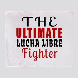 The Ultimate Lucha Libre Martial Art Throw Blanket