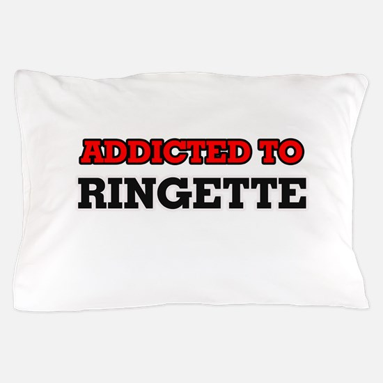 Addicted to Ringette Pillow Case