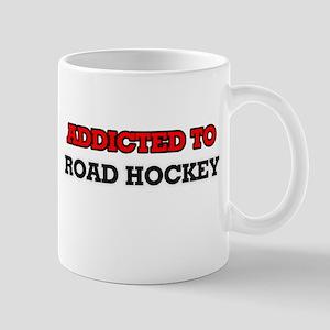 Addicted to Road Hockey Mugs