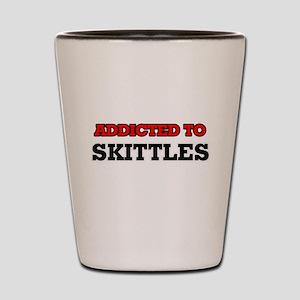 Addicted to Skittles Shot Glass