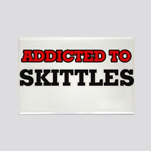 Addicted to Skittles Magnets
