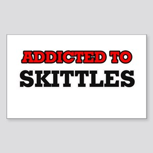 Addicted to Skittles Sticker