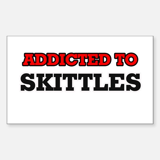 Addicted to Skittles Decal